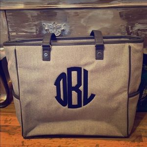 Thirty One Cindy Tote Monogrammed